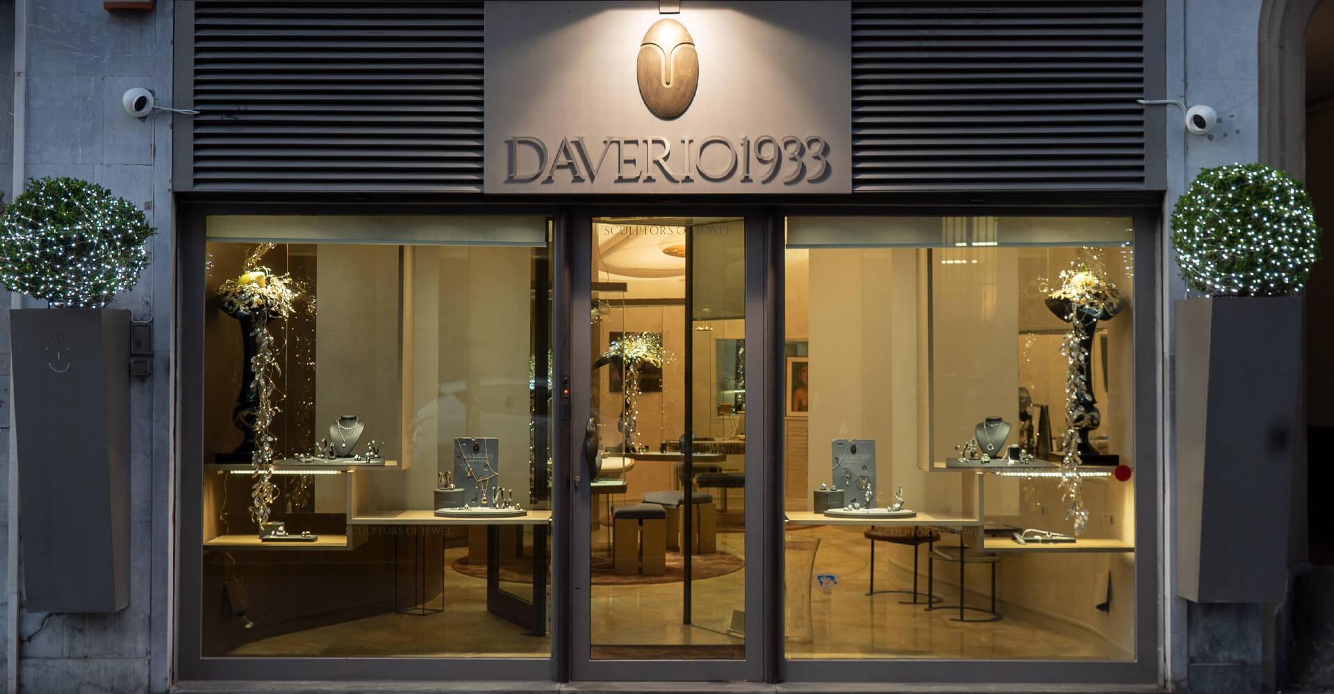 gioielli Dreambox Daverio 1933, Shop gioielli da uomo